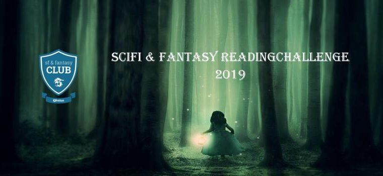 Hoe staat het met mijn reading challenges? De Scifi & Fantasy Reading Challenge