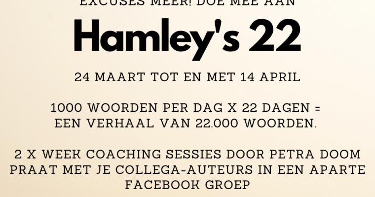Hamley goes live: voor schrijvers en lezers